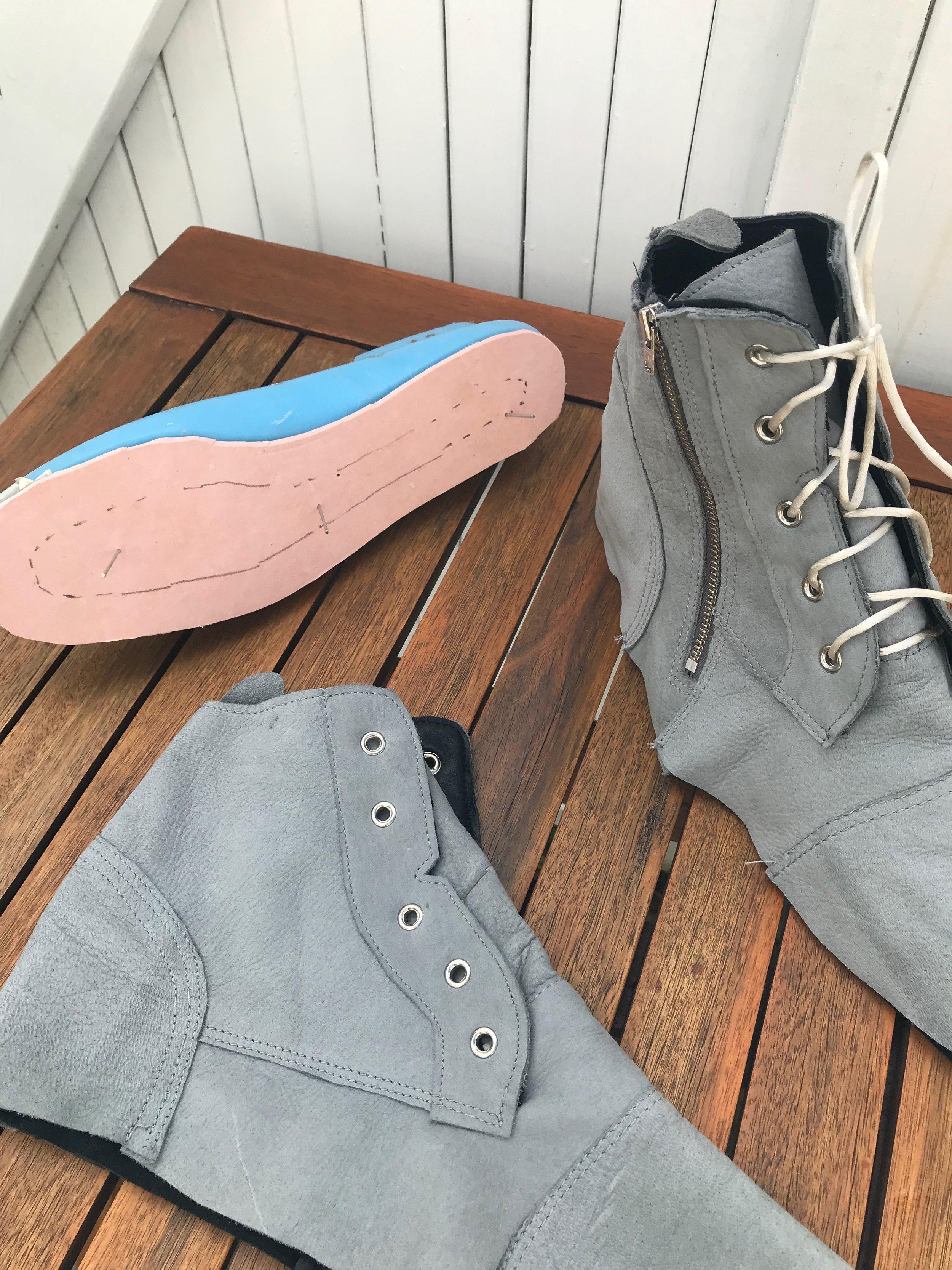 shoe last insole board