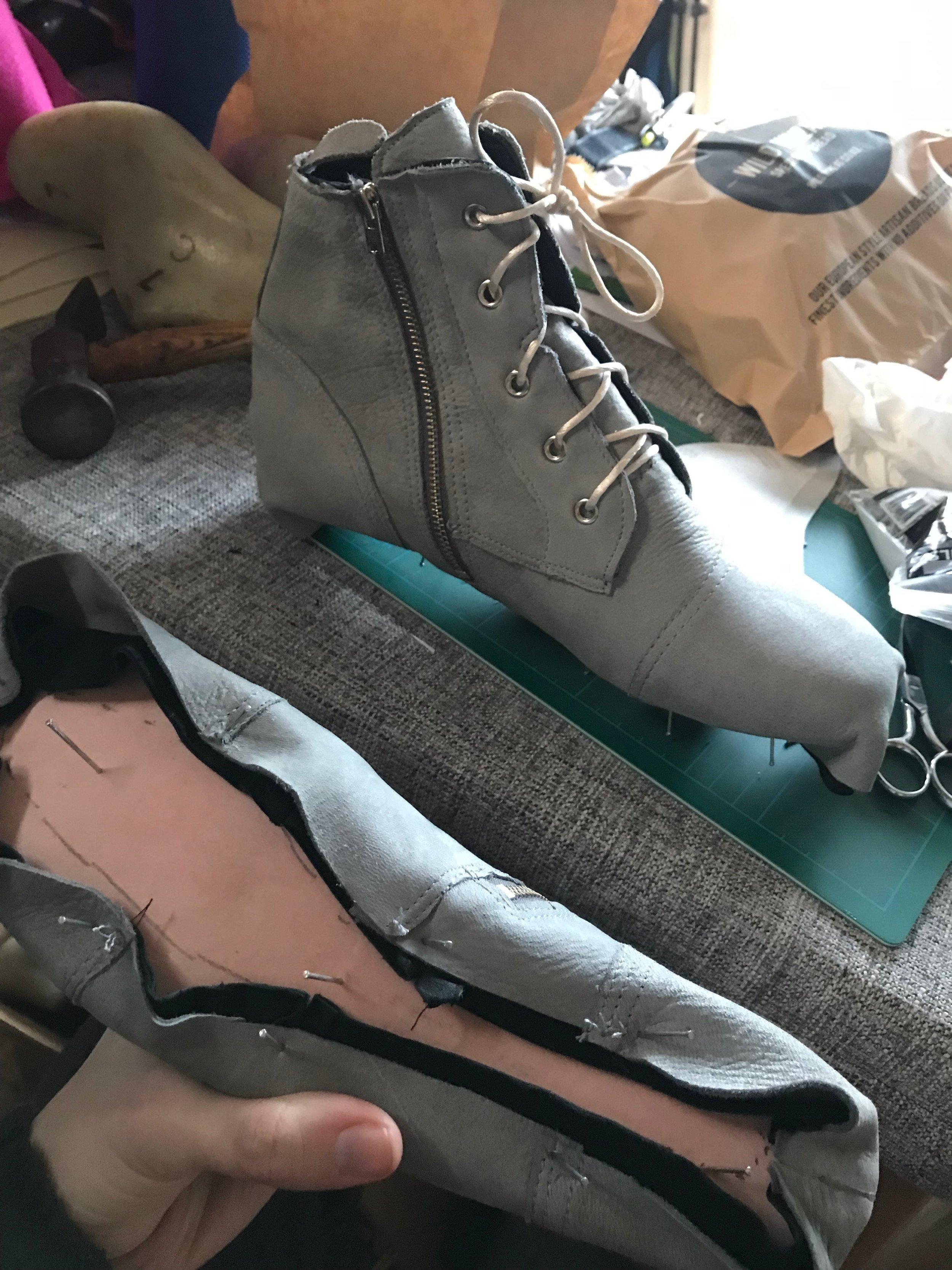 dry lasting handmade shoe