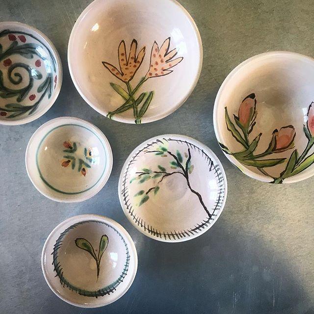 #littlebowls #potterylife #majolica #potter #farmhouseliving #handmade