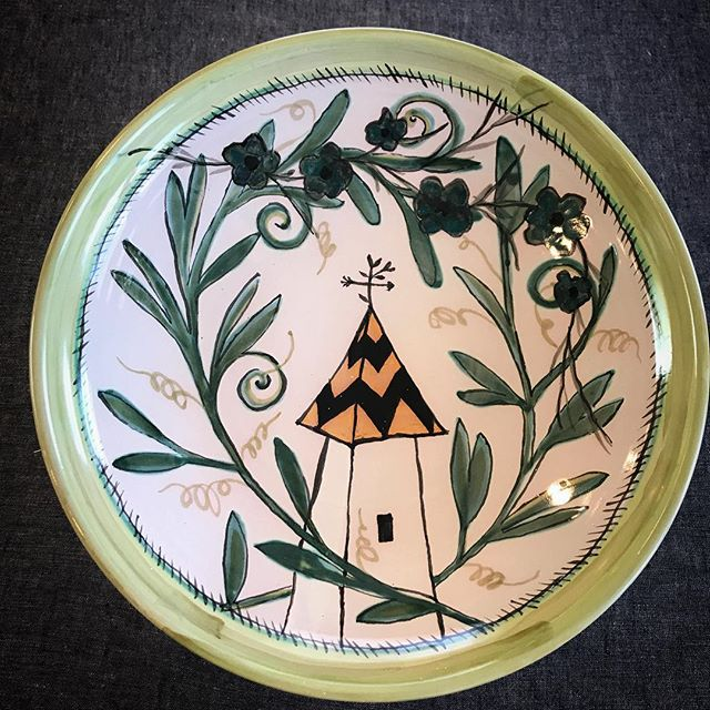 #newwork #laconciergerieparis #bigenoughbowl #servingbowl #handmadepottery
