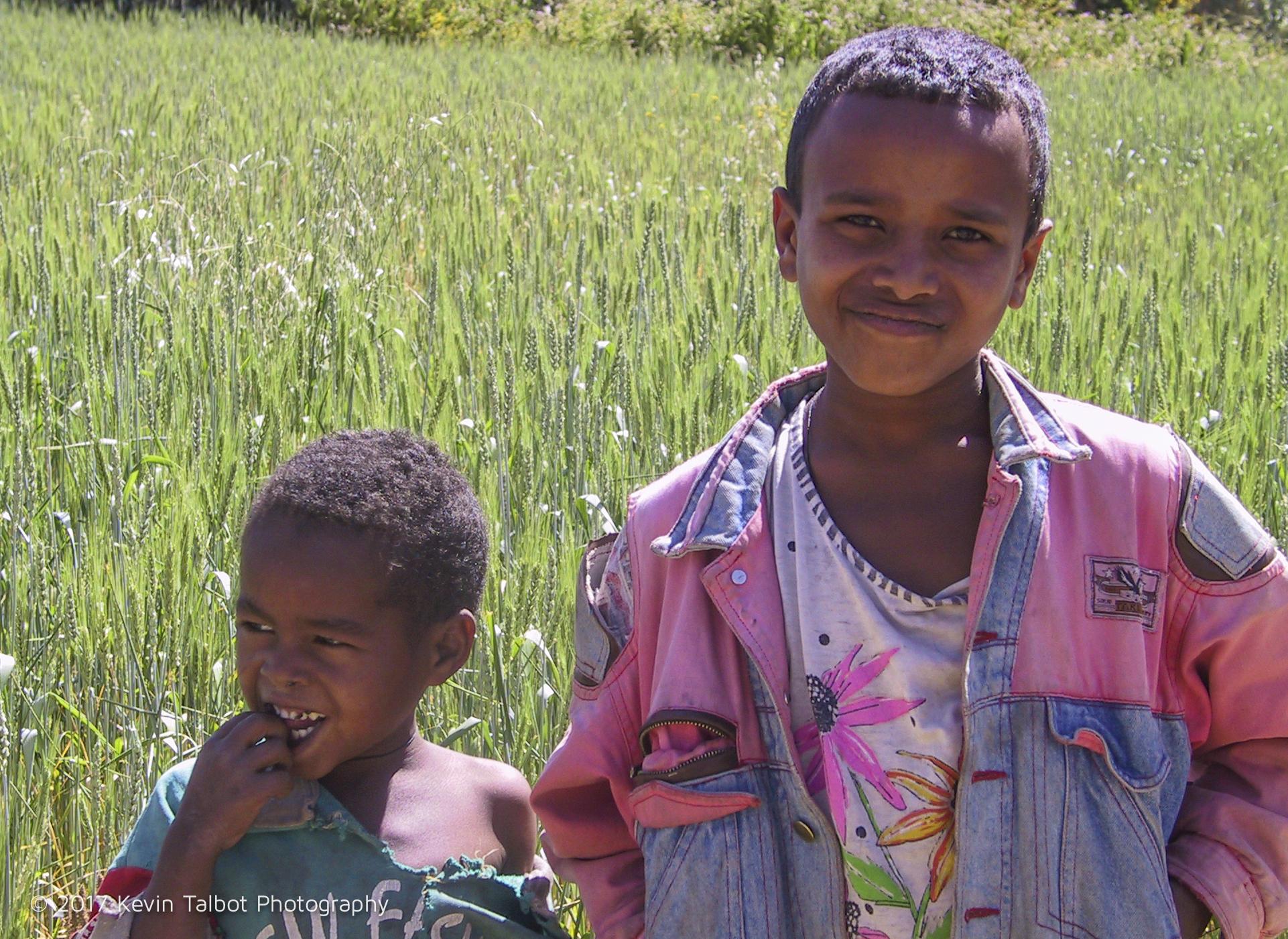 Ethiopia boys