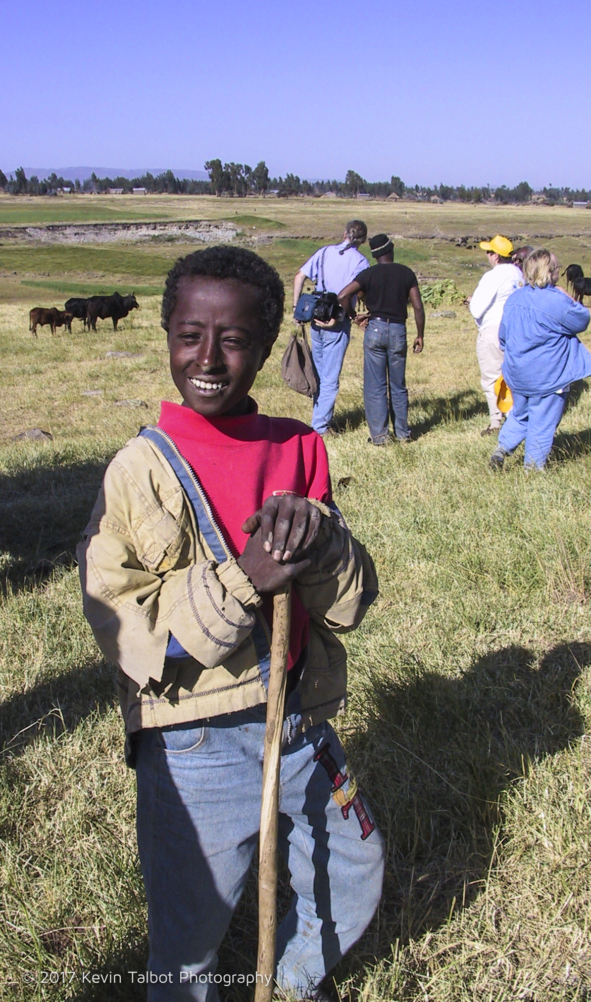 Young rancher