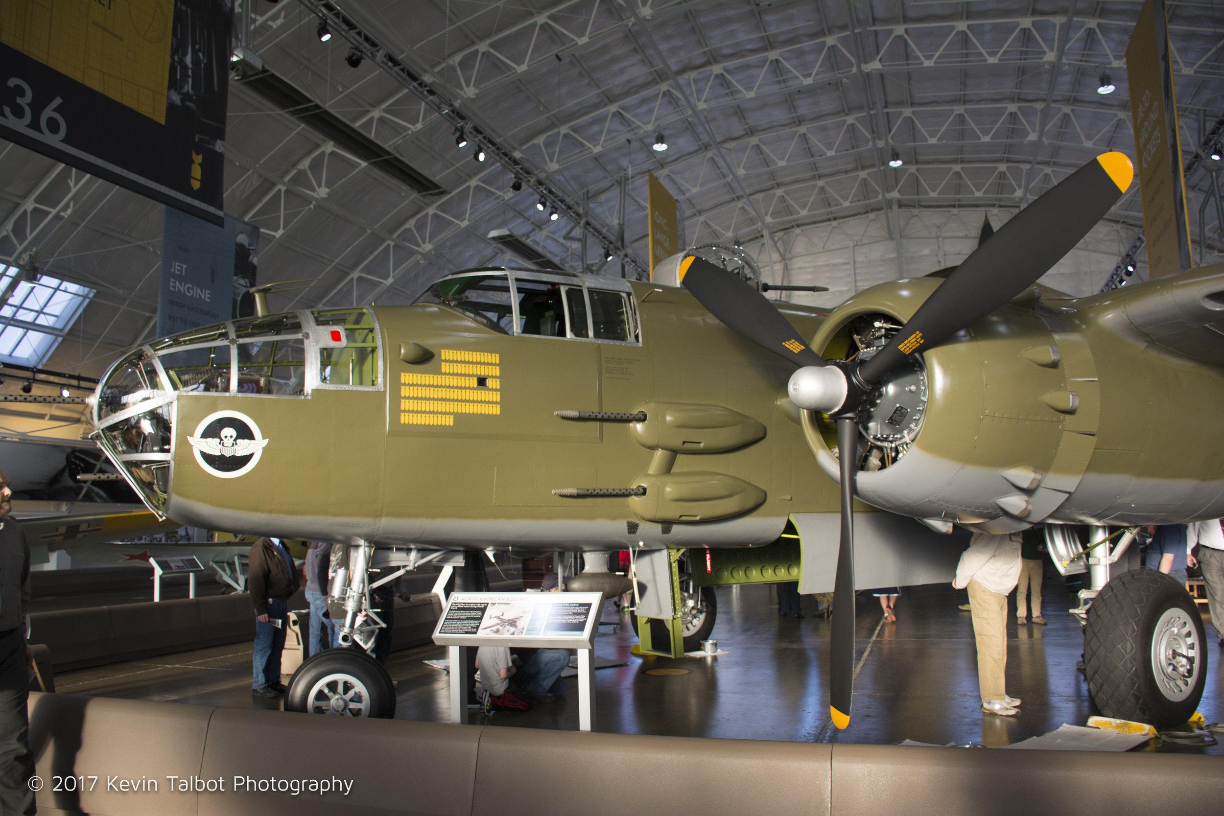 Mitchell B-25 bomber