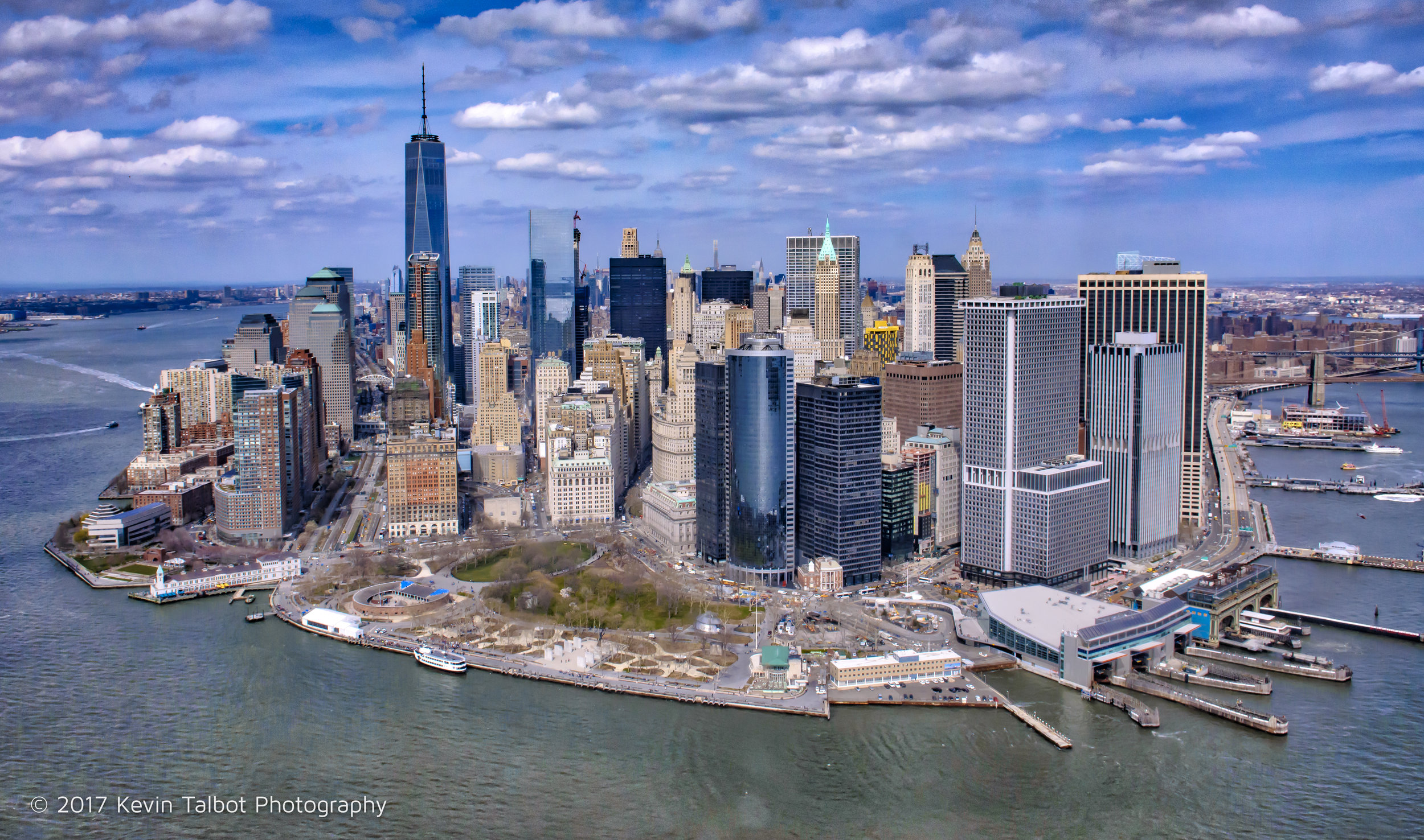Downton Manhattan from the air