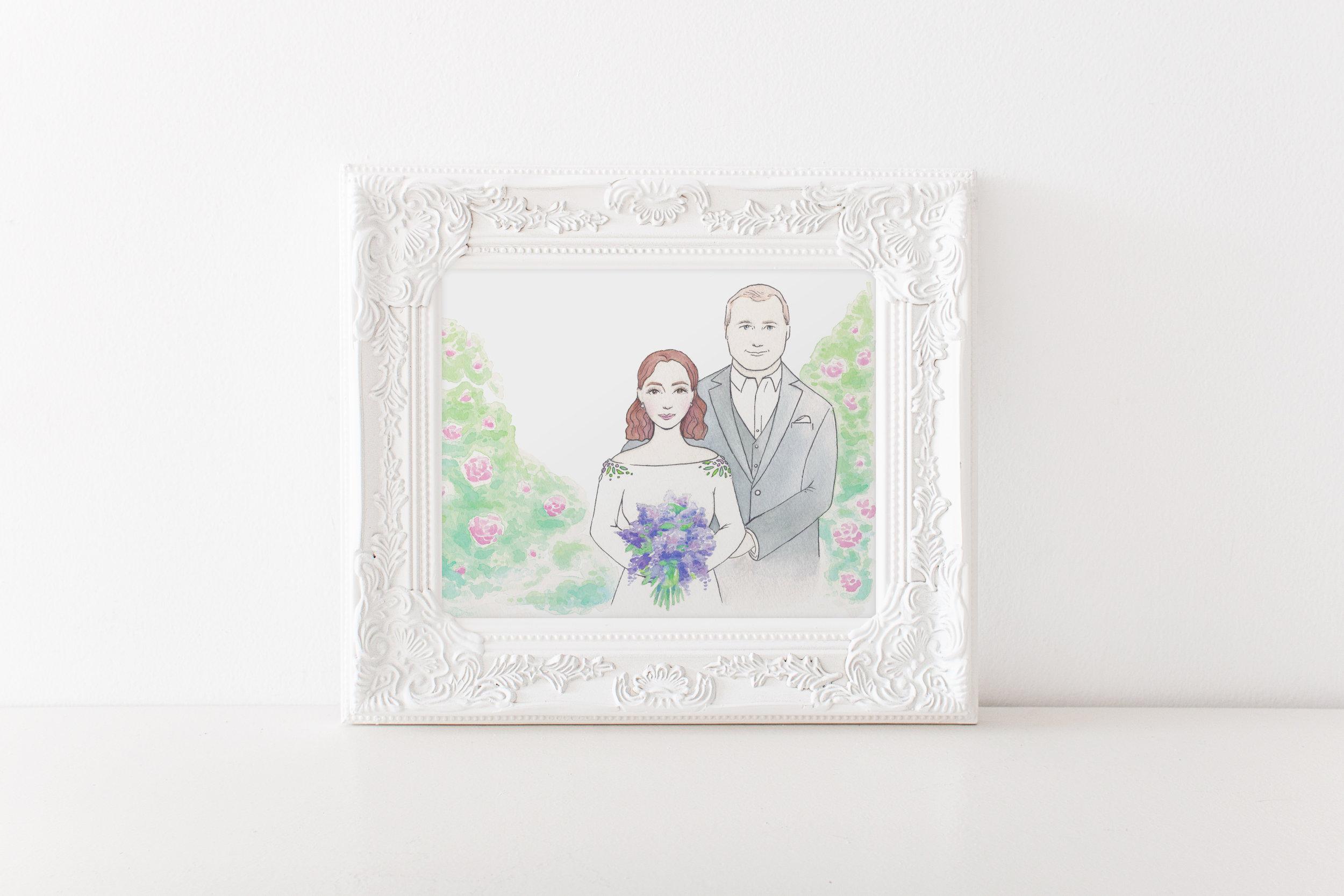 Custom Wedding Art & Design - Keepsake art, invitation designs, gifts and more!