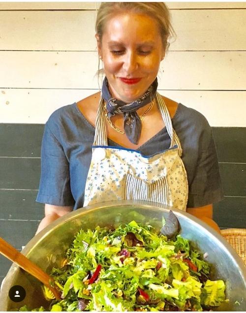 salad modeling and photo courtesy of @margiedillenburg