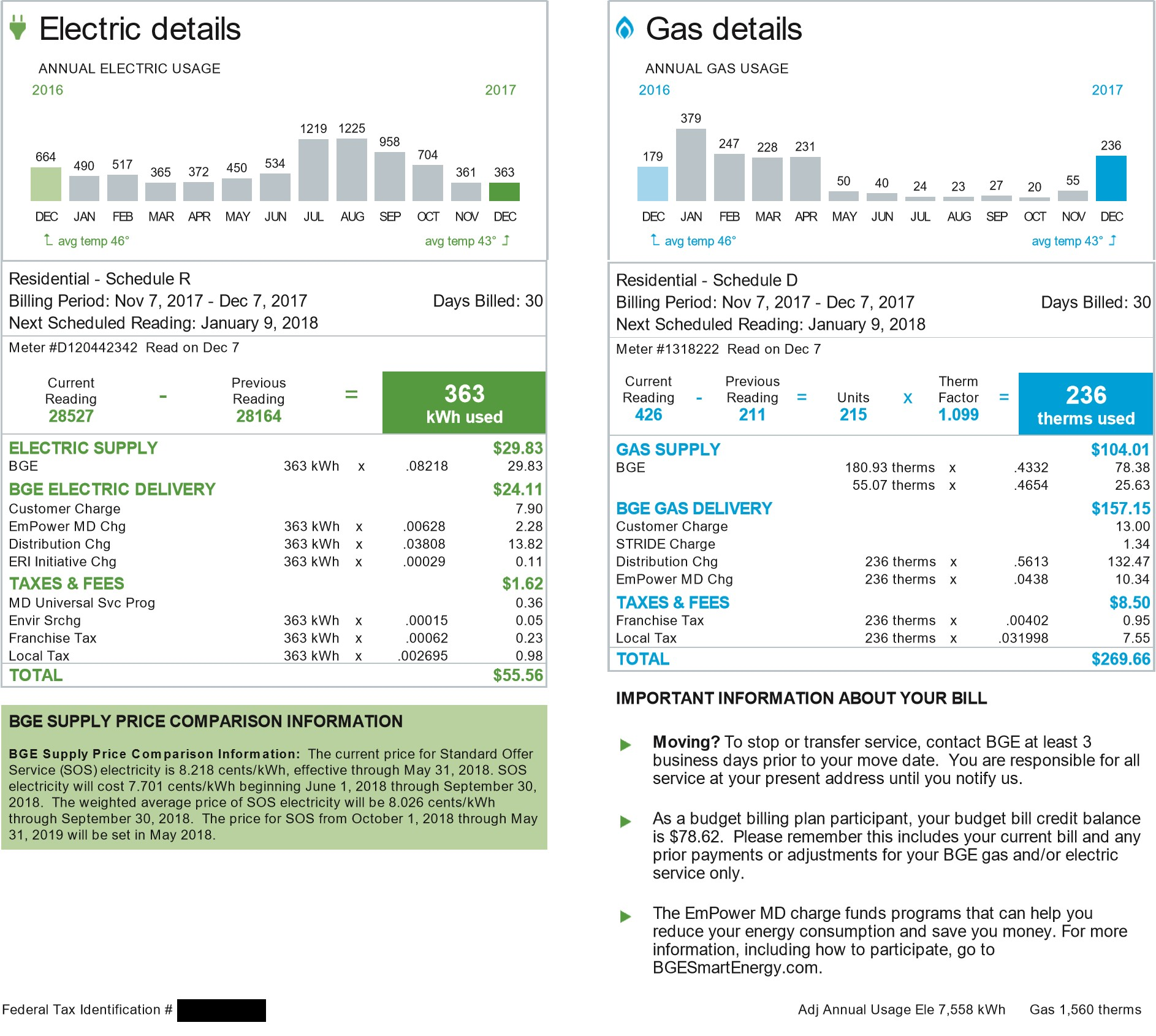 BIll Review - SolEnergy will analyze your energy bill to determine the amount of solar needed to offset your annual consumption.  Here we also expose the prices your are being charged by your utility company. In one year this customer bought $1,327.35 worth of electricity. Subsequently they were forced to pay $1,593.47 in DELIVERY CHARGES & FEES.Totaling $2,920.82Our team of experts will show you how to get that number down to $0.