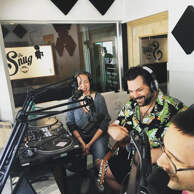 We're live on the air at SaveOnRadio.com right now with @fallowstate  Listen live from 4-6 or check out the podcast on Tuesday!