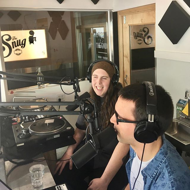 The amazing and wonderful @thebryanmichael chats with us this afternoon on @saveonradio. Tune in to catch the last half of the interview, and keep on the lookout as this week's latest episode drops Tuesday on pacificsoundradio.com