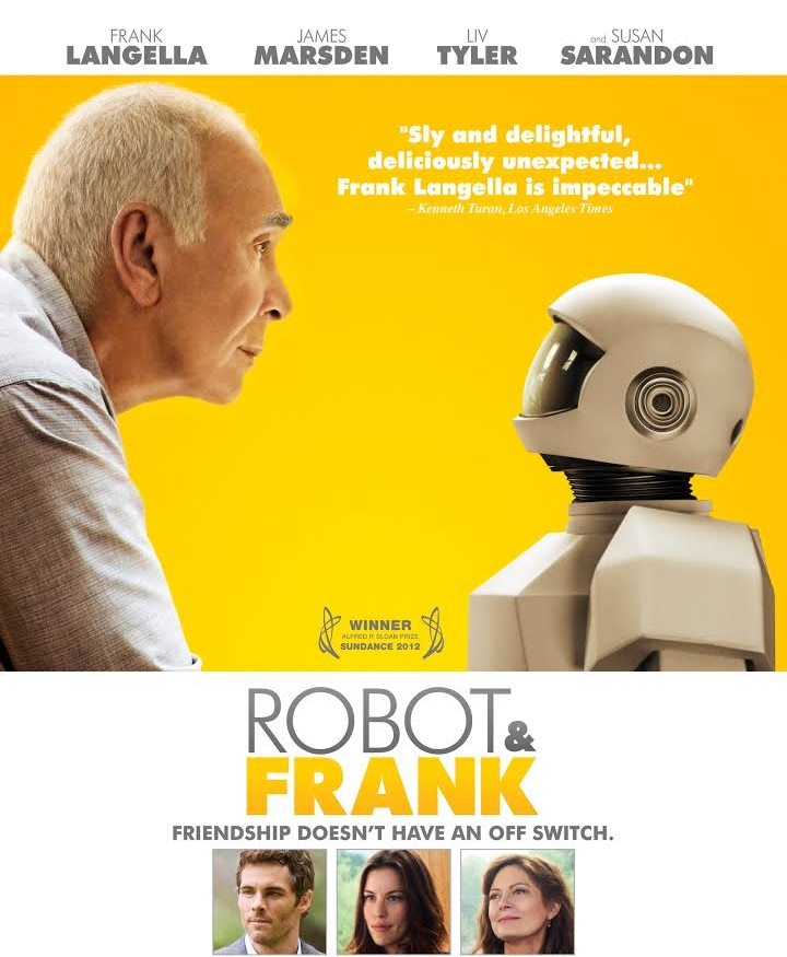 robot and frank robotics dementia alzheimer's frank langella james marsden liv tyler susan surandon aging