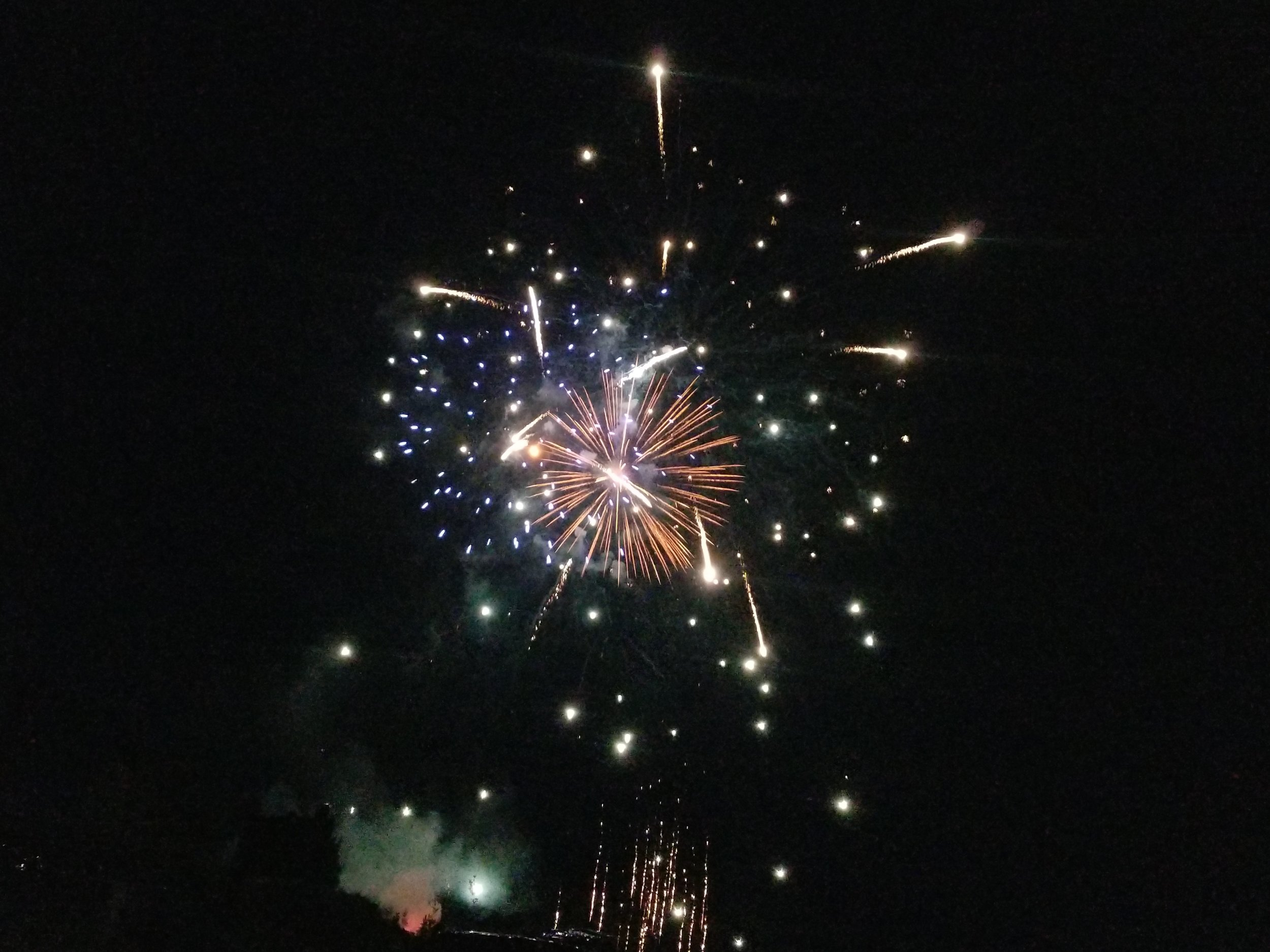 teton village 4th of july 2019 fireworks wyoming