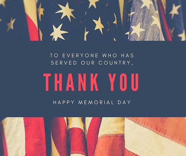 Happy Memorial Day! 🇺🇸🇺🇸🇺🇸🇺🇸🇺🇸🇺🇸🇺🇸 We hope everyone has enjoyed this time with those they love! Let's celebrate the brave! .. #neverforget  #alwaysremember  #usa