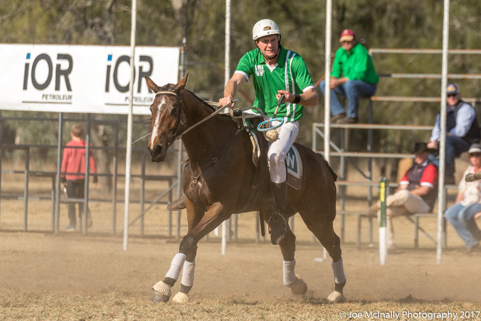 Warwick horse and rider in the IOR Rosebowl Final