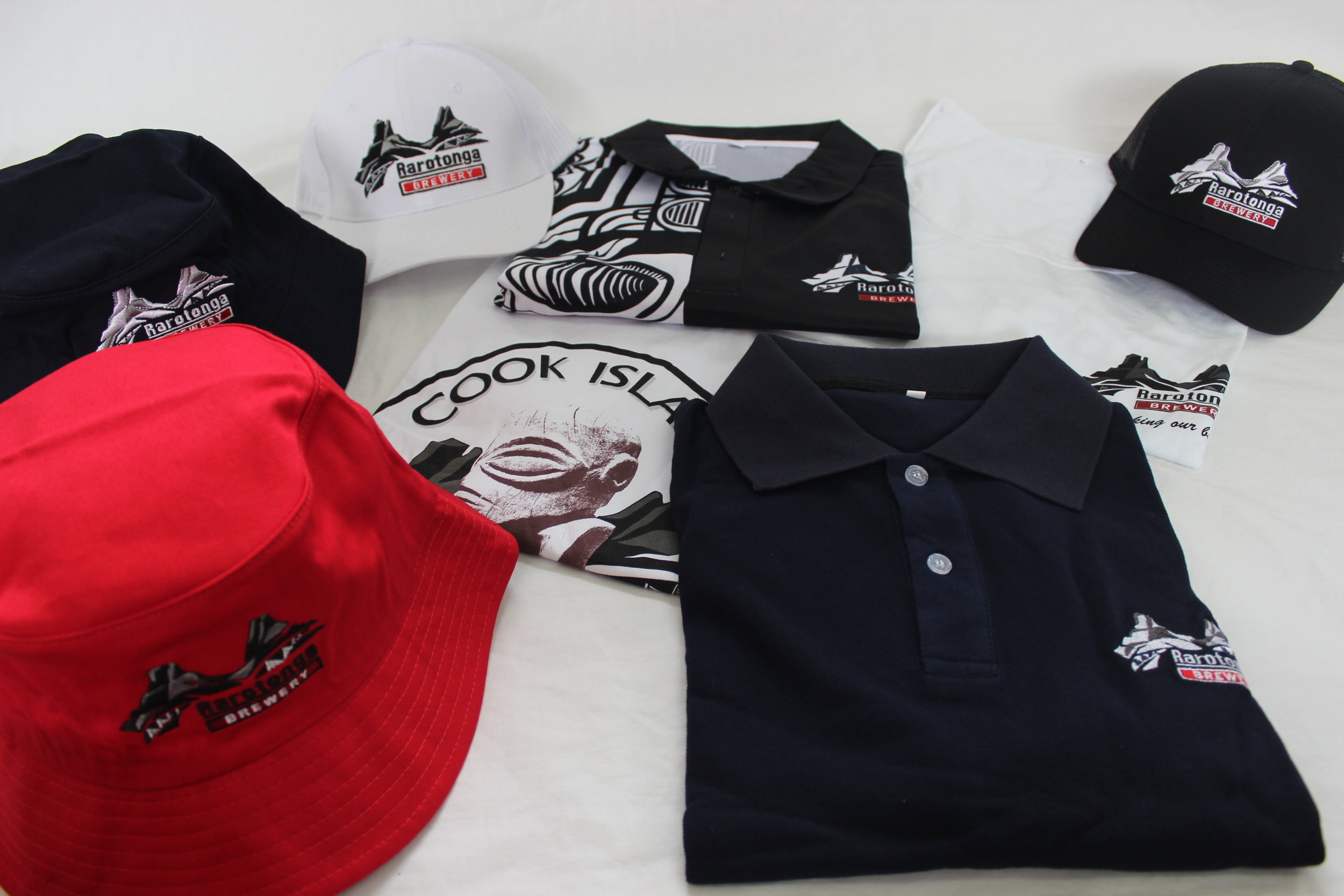 T-shirts, Hats and Singlets   We stock a range of sizes colours and designs. Come down check out the swagger for yourself.