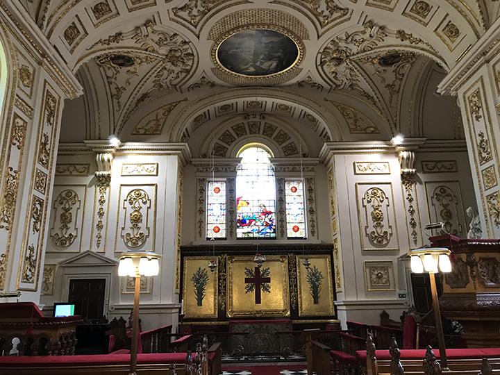 Interior of Great Witley Parish Church.jpg