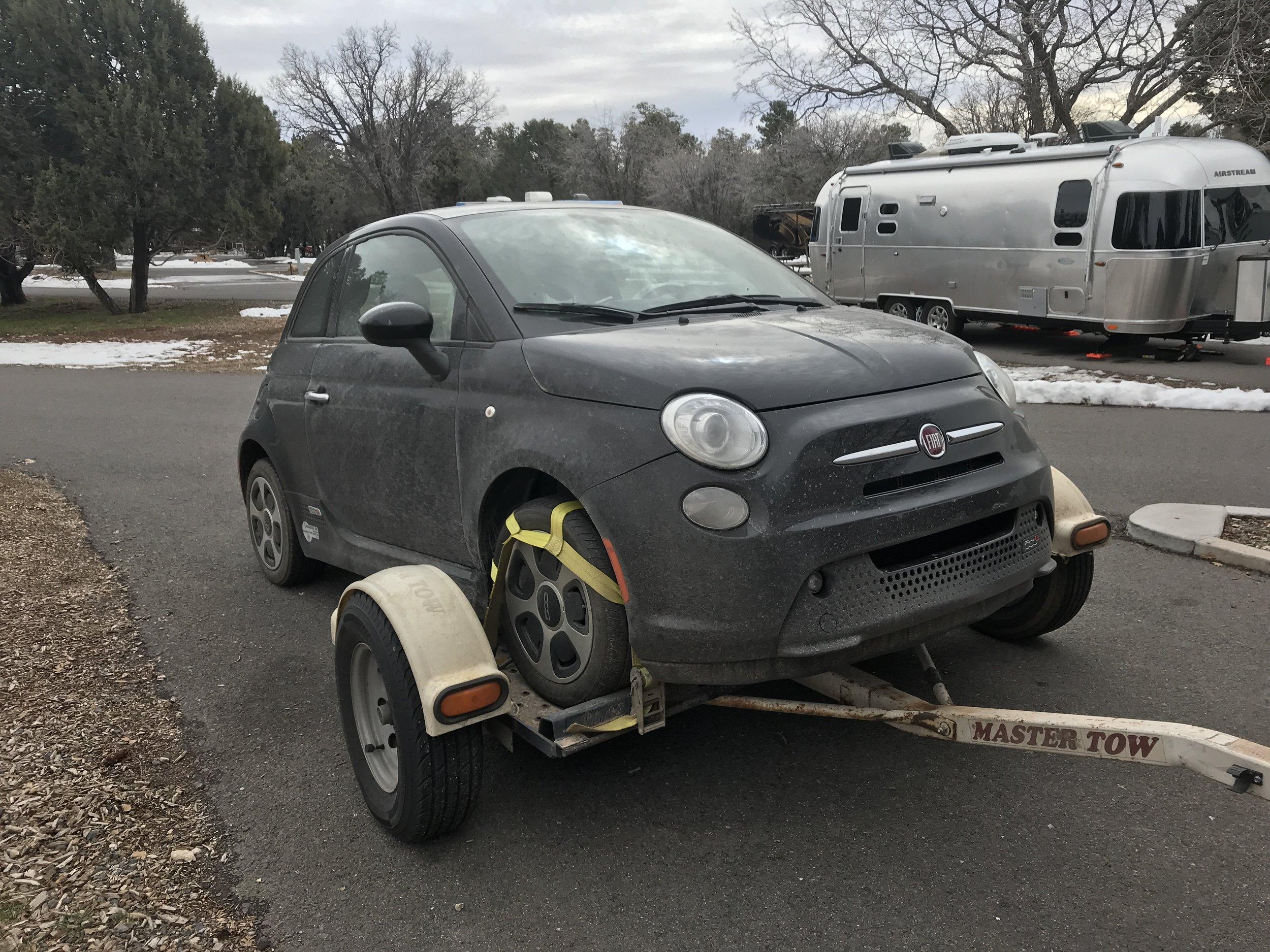 Little car needs a bath