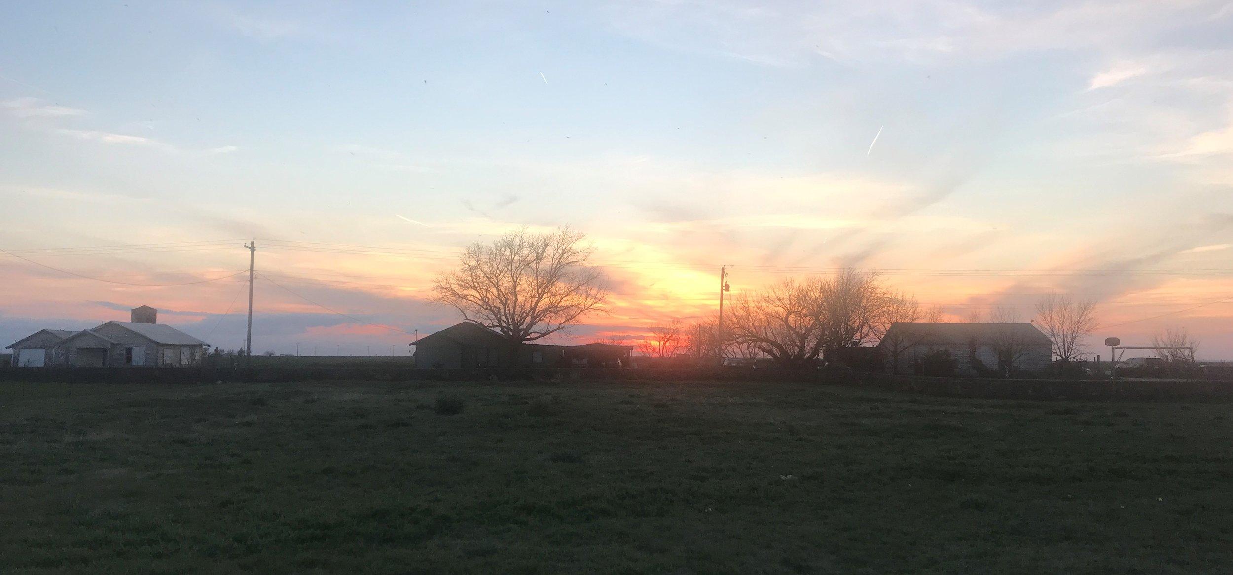 Sunset at Eola