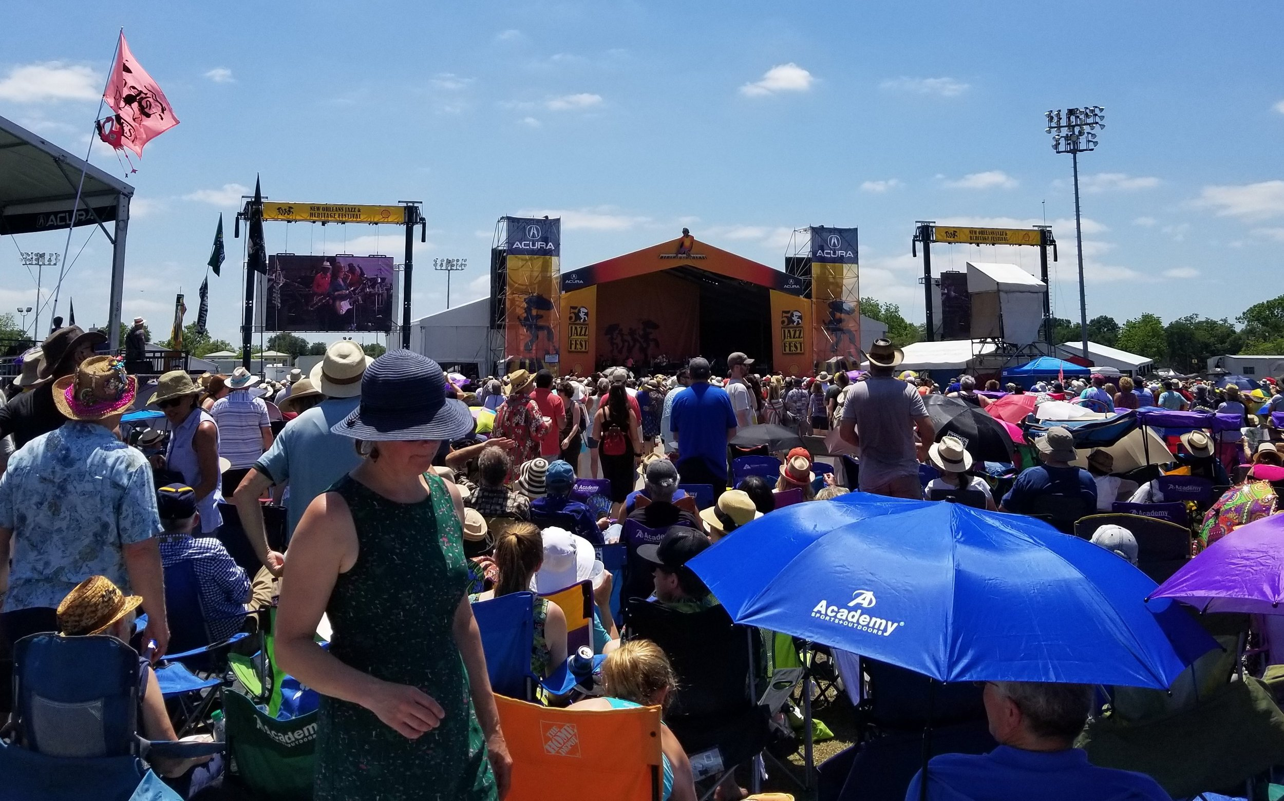 Jazz Fest weekend one