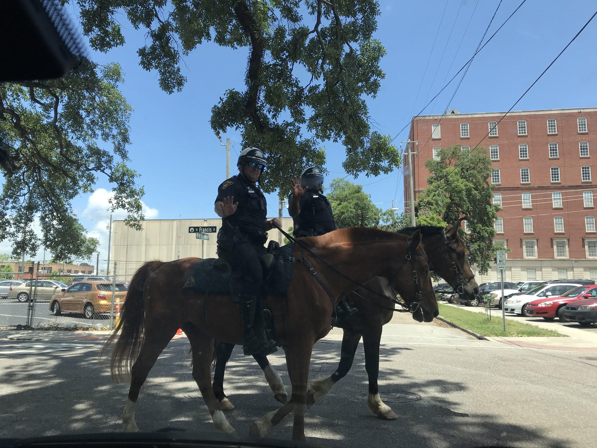 Police in Mobile, Alabama