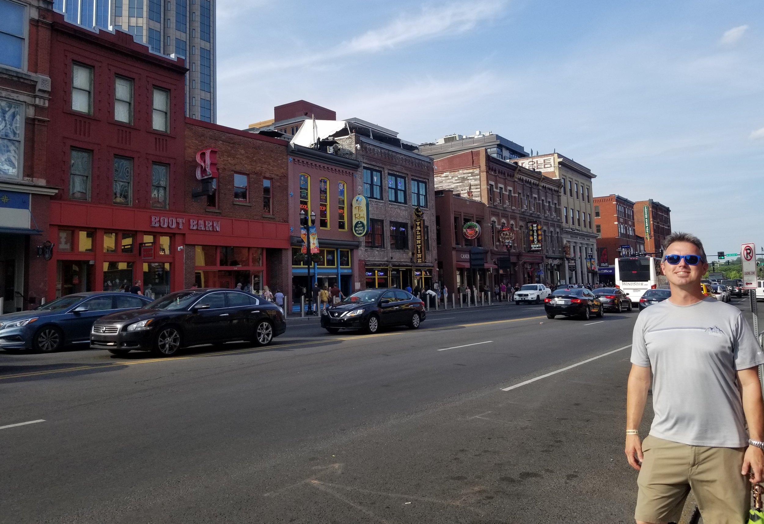 Downtown Nashville's Honky Tonk Highway