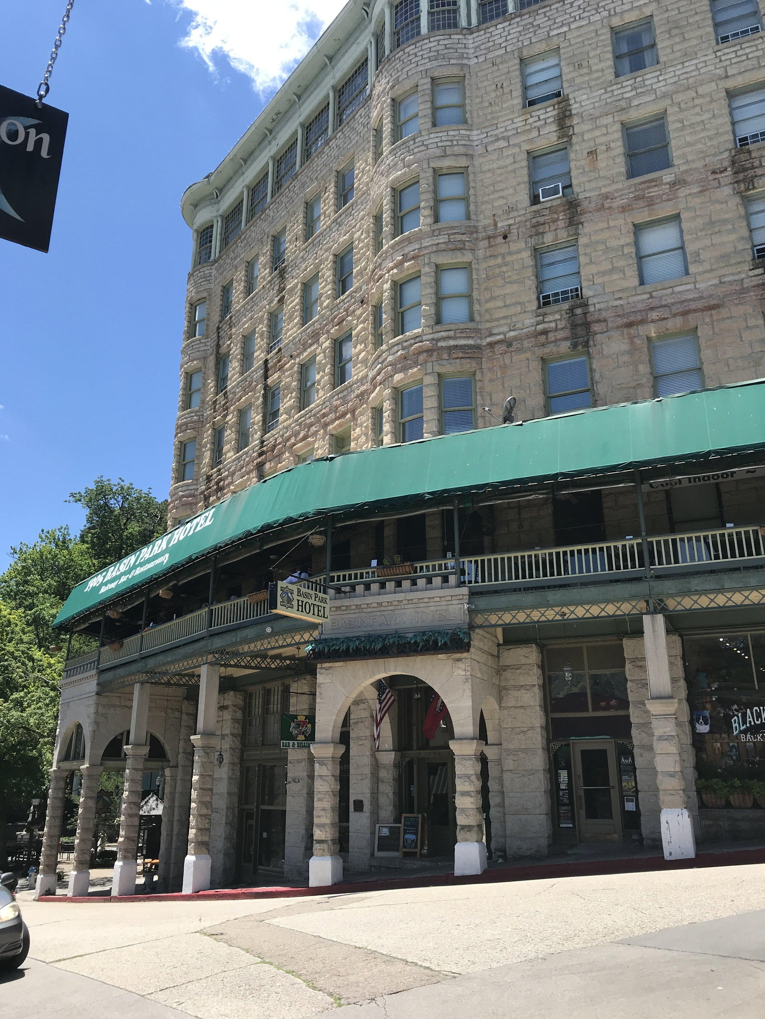 Hotel in downtown Eureka Springs