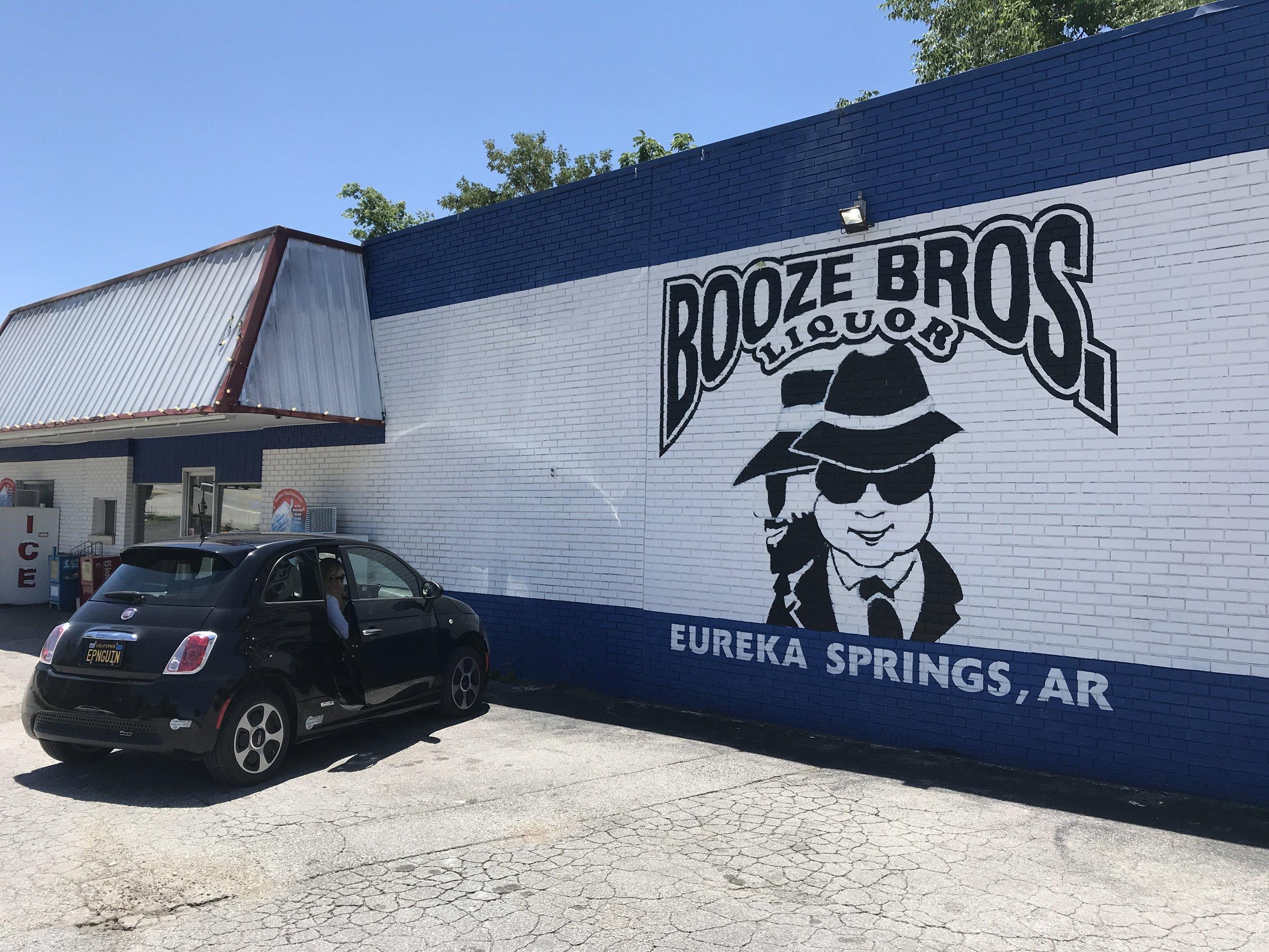 Booze Brothers liquor store