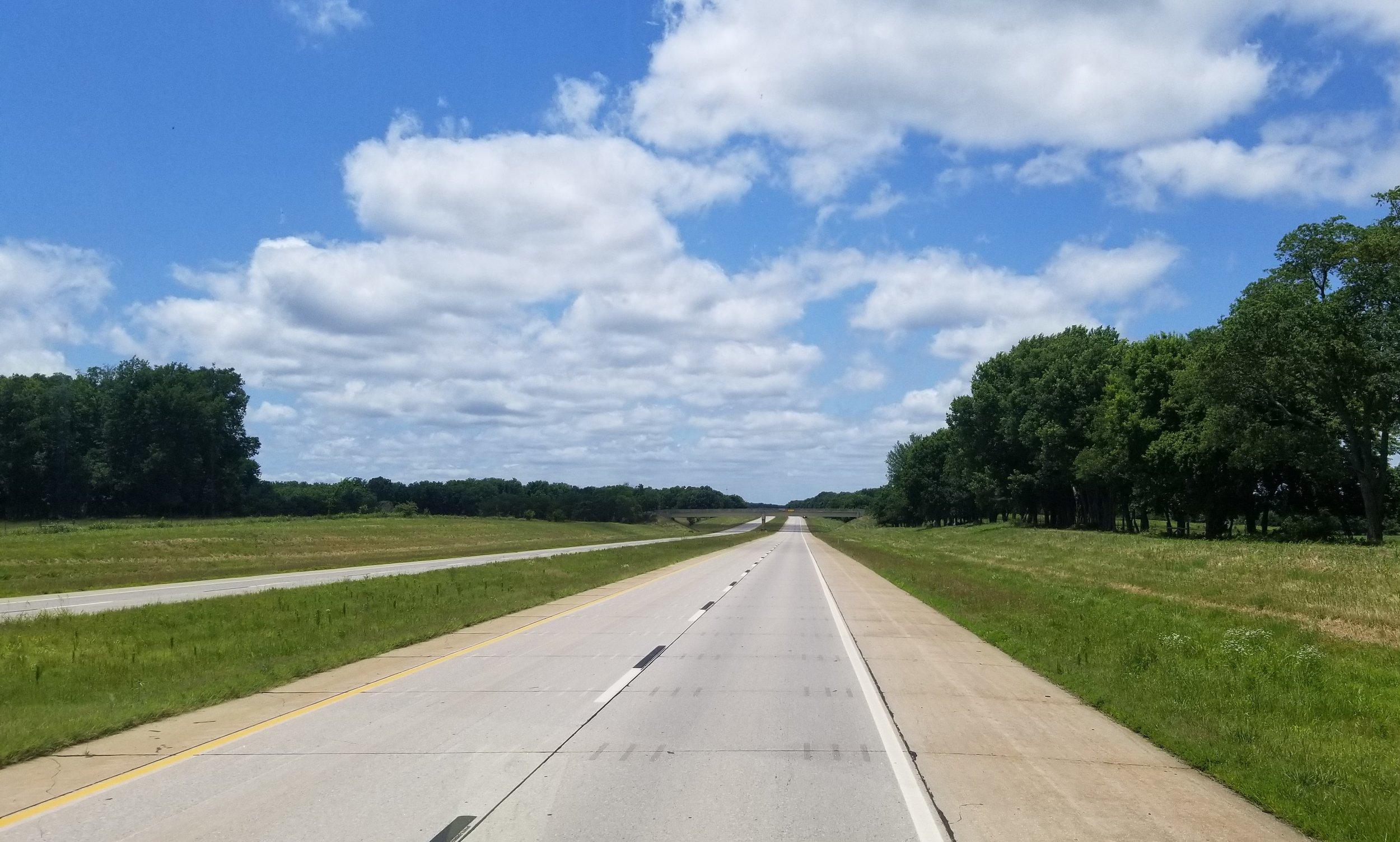 Cherokee Turnpike in Oklahoma