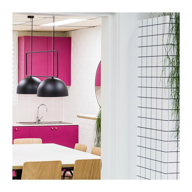 | FLASHBACK |  to the design of this vibrant breakout space for our friends at @chadwickdesigns