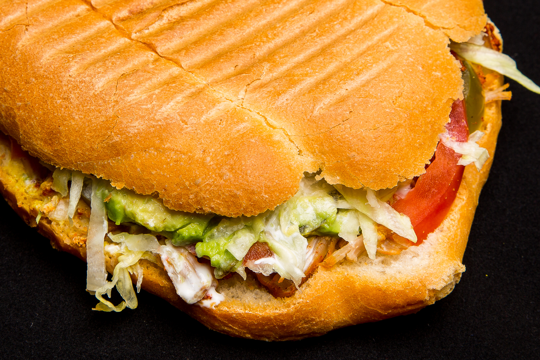 chicken torta (mexican sandwich