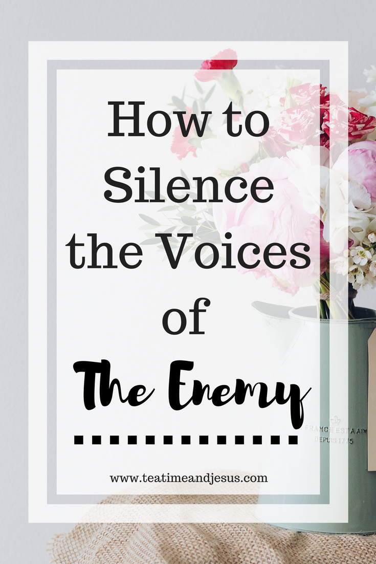 Do you often get tired of listening to all of the lies that come to your head?  The devil loves to try and plant seeds, but we have the power to throw away every thought he puts into our minds.  Read on to find out practical ways to silence the voices.