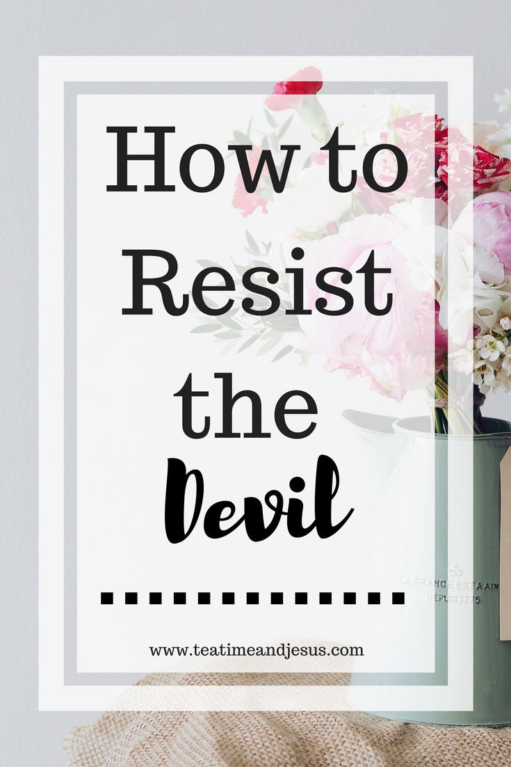 """The Bible says """" Resist the Devil and He will flee."""" How exactly do we do that? Read on the find out practical ways to resist the devil."""
