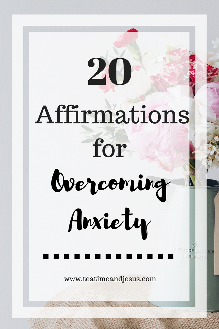 Speaking truth to cancel the lies is one fo the best things we can do for ourselves.  Join me in declaring these 20 affirmations over our lives.