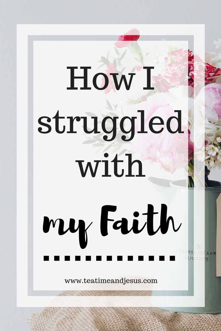 As Christians, it can sometimes be hard to admit that we have doubted God. That at one point in time, we didn't truly know if God was there? Read on to find out how I struggled with my faith, but found Jesus was the answer time and time again.