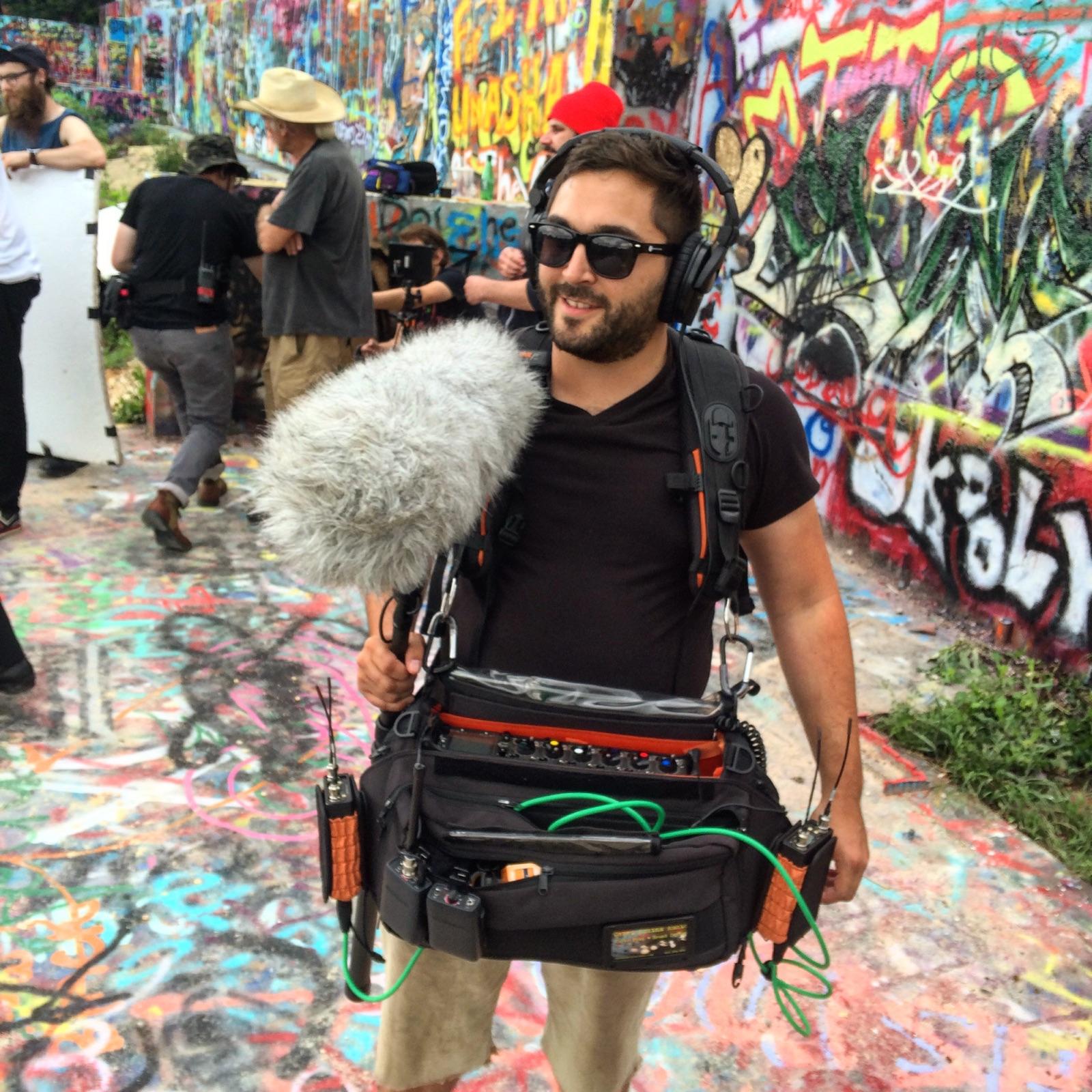 Cabel Adkins Audio Location Sound Sound Design Graffiti
