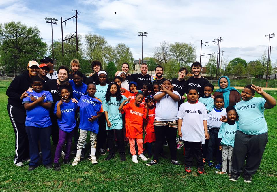 West Philly Soccer Festival 2016. Our first big event. Kids from West Philly public schools came to Kingsessing Rec Center to play our very own World Cup. Unforgettable.