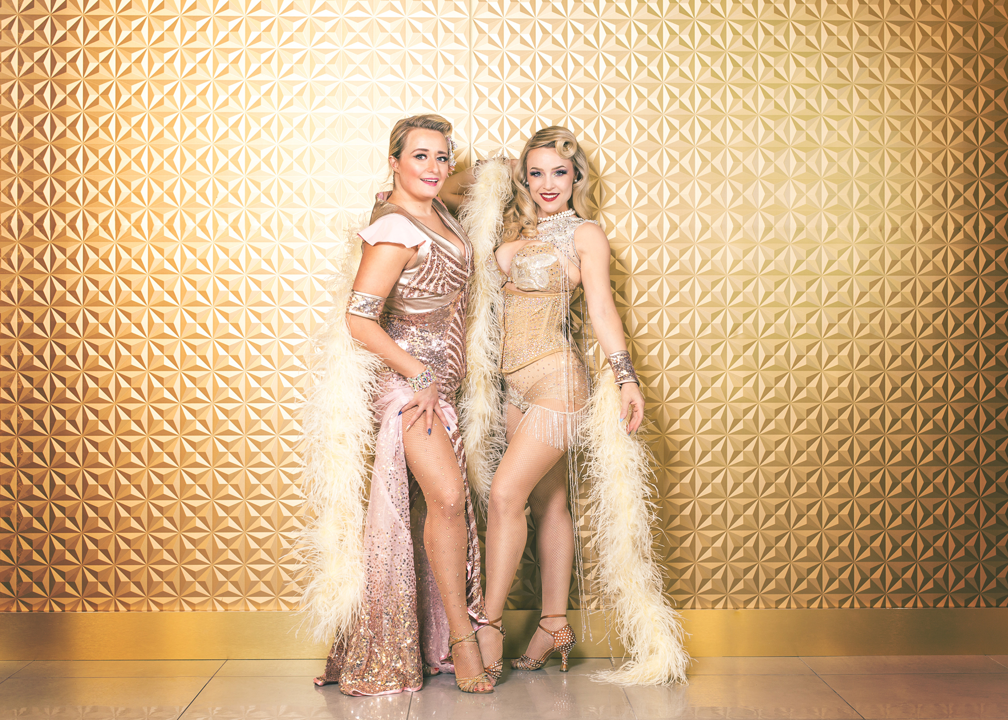Letabby Lexington (left) & Violette Coquette (right) / Image by Vintage Photography, 2018