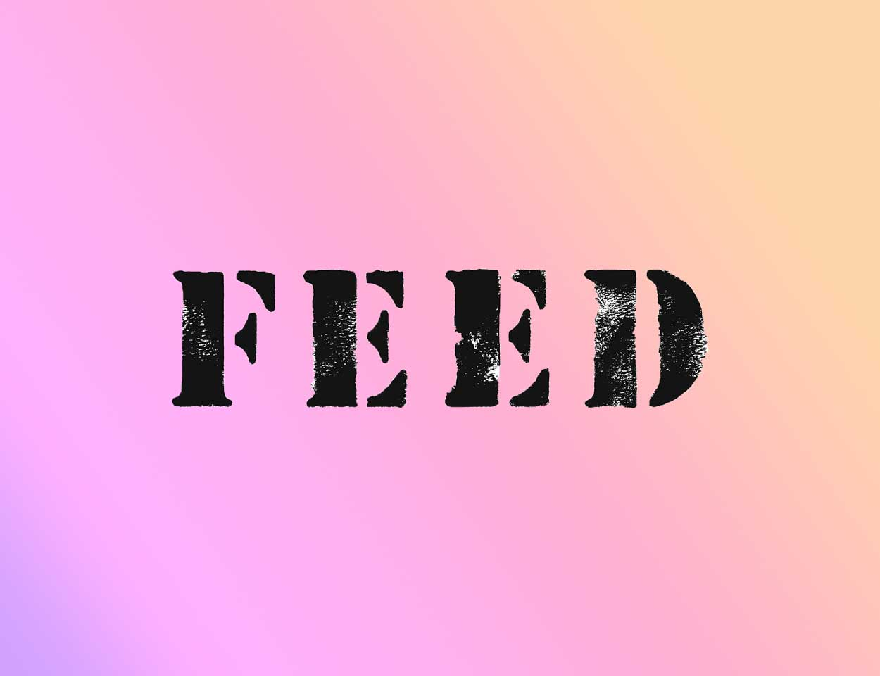 integrated co-marketing ad campaign: feed projects + coachella + kind bar (concept work)