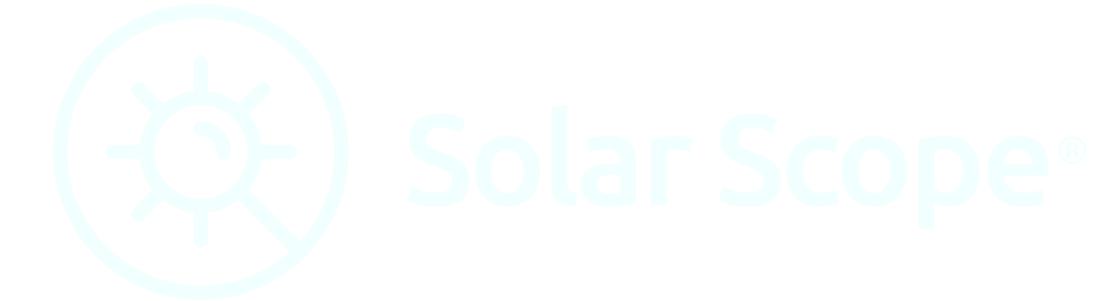 solar scope white logo