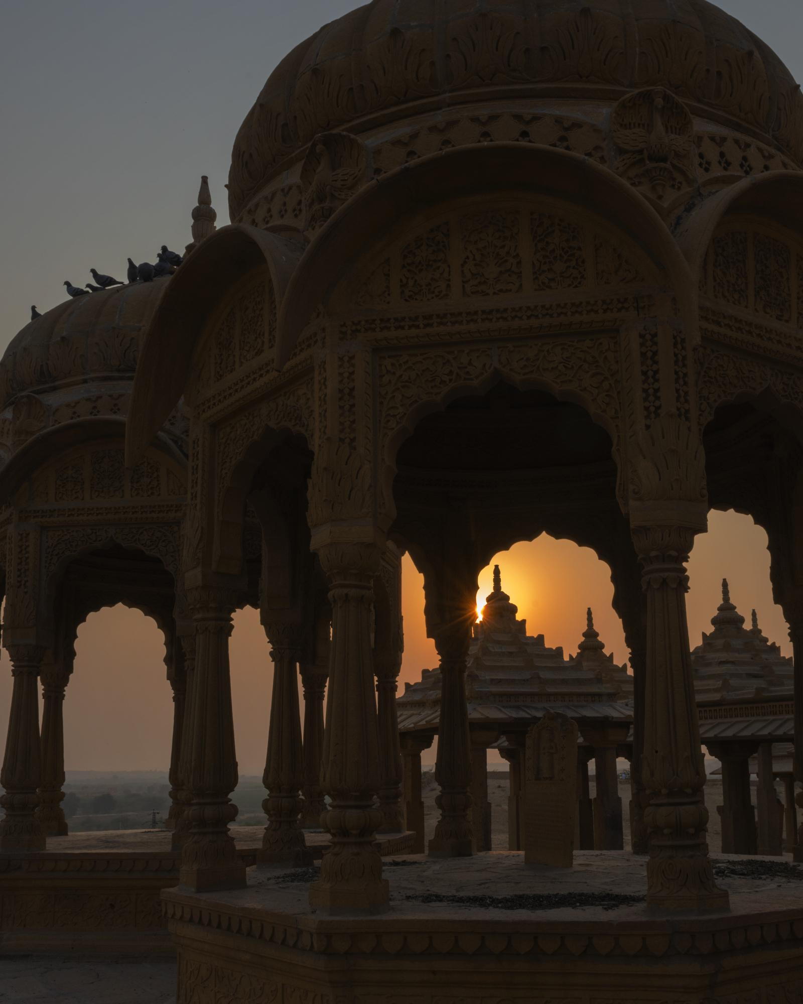 Jaisalmar  Centotaphs
