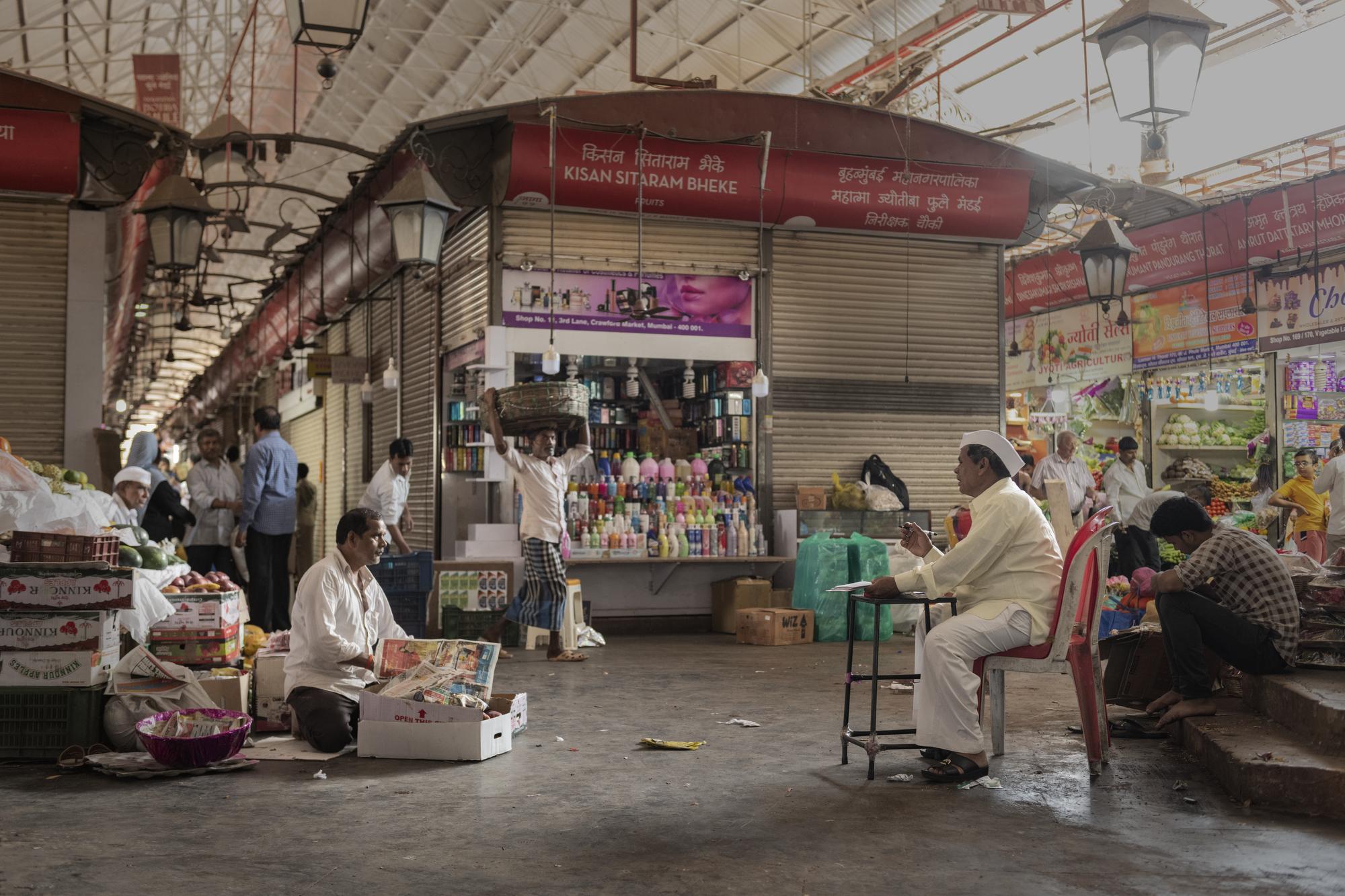 Mumbai Crawford Market