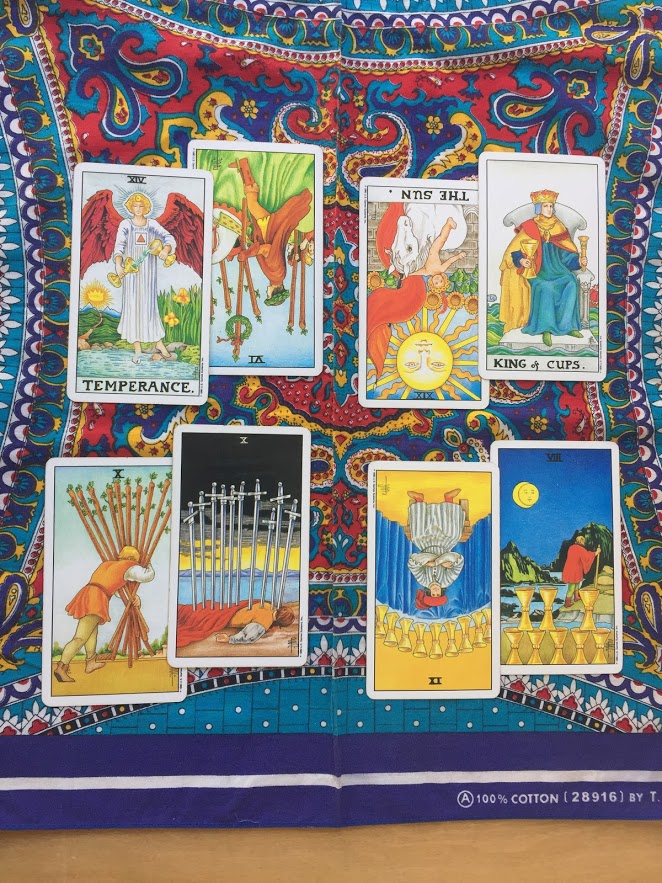 Tarot Cards - The Good Spirit