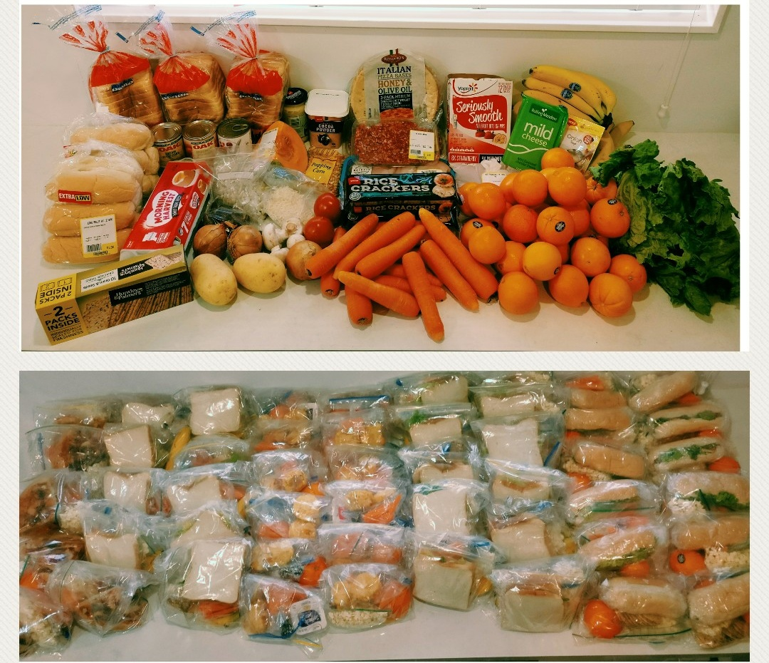 Lunchbox Challenge - Shopping ListRecipes