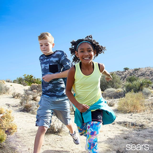 Sears & Kmart Girl's Activewear - Product that I designed & executed from concept to market ready as an Associate Designer.