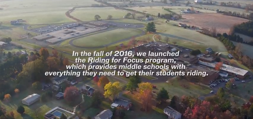 Learn more about  Riding for Focus .