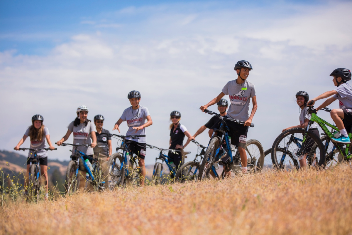 Students from Chaboya Middle School Outride ADHD in the Evergreen School District in San Jose, California