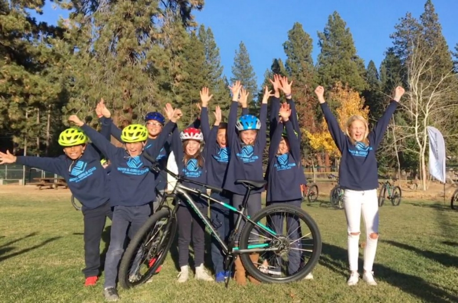 """With construction of a nearby trail set to begin next spring, the Tahoe Fund presented 20 new mountain bikes to the club, which also included the donation of a storage system, helmets, and extra parts as part of a new mountain bike program at the club.  """"This is the first mountain bike program we've ever done,"""" said Boys & Girls Club of North Lake Tahoe Director of Operations Ben Visnyei. """"We envision it being a world-class introduction to mountain biking with certified professional instruction, great trails, and access to new, safe, reliable equipment.  """"We're really excited to be providing a new opportunity to the kids in Kings Beach to be able to access the trails they have right in their backyard. They'll get on the bikes right here at the club, bike two blocks, and they'll be on the trails.""""  With funds raised and work expected to begin next spring on the Kings Beach Trail, which will transfer a current off highway vehicle trail with erosion issues into a multi-feature trail, the Tahoe Fund partnered with The Specialized Foundation in an effort to get more children out biking the area's trails.  """"There are a lot of trails just two blocks from the Boys & Girls Club that the kids don't necessarily have the opportunity to get to. You need a bike to go mountain biking, and so when we were working with the forest service and (Tahoe Area Mountain Biking Association) on building this new trail two blocks from the club, it dawned on us that it was a great opportunity to introduce a whole new group of kids to the joy of riding outside,"""" said Amy Berry, CEO of the Tahoe Fund."""