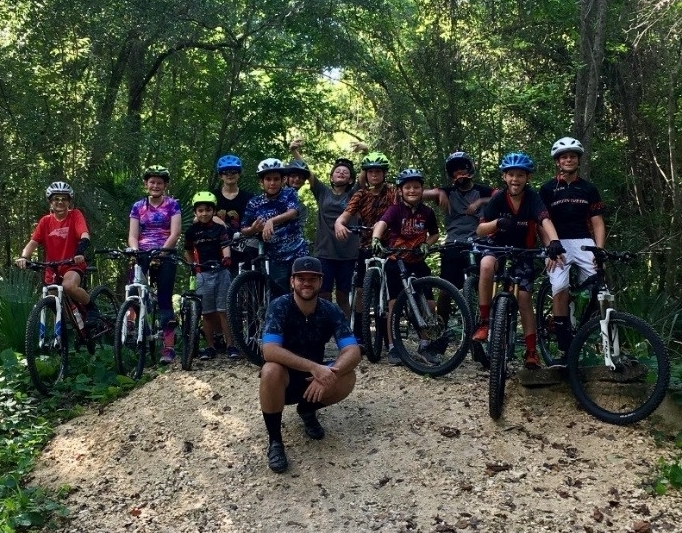 Riding for Focus School Champion Jared Davis, Leader of the Pack!