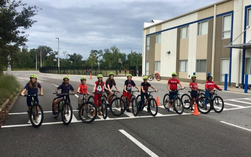Duval Charter School Southside Students Saddle Up for a Skills Class