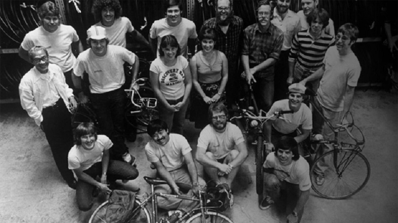 In the early daya, The Specialized Team circa 1974.