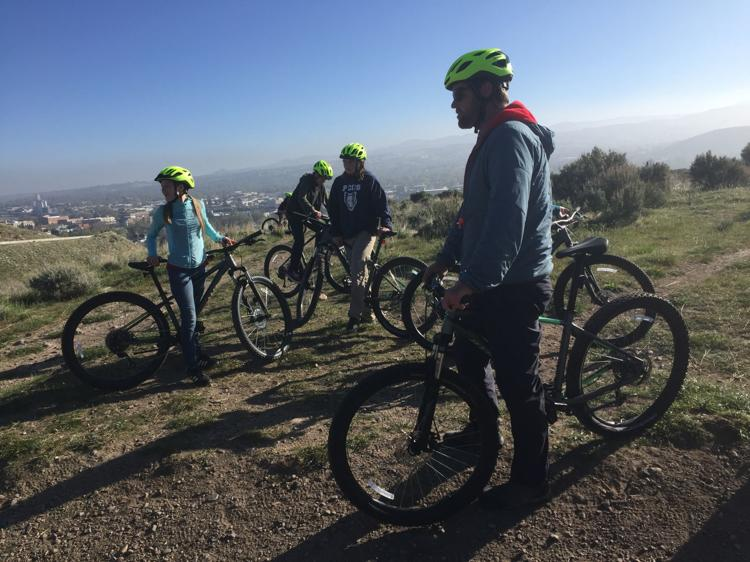 """Kumm explained he found a """"release"""" in biking, and remains an avid cyclist. Read more in this  article  in the local news."""
